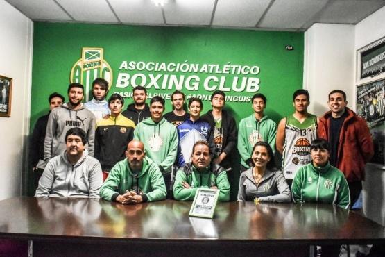 Boxing presentó a la Primera