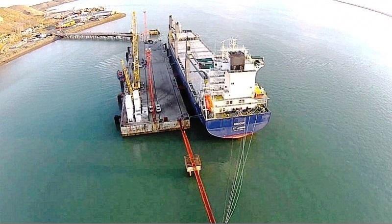 La planta estará en el Puerto de Punta Quilla. (Archivo).