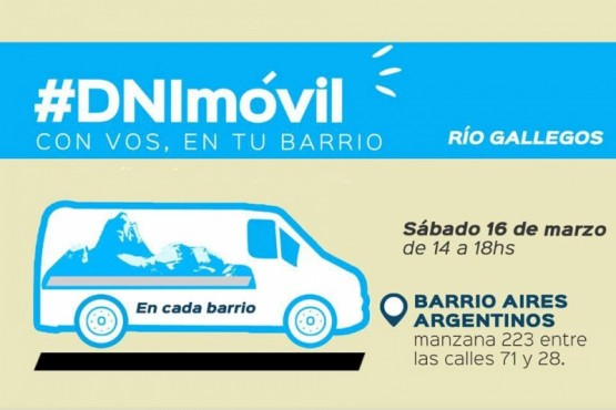 DNI Móvil en el barrio Aires Argentinos