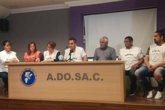 Hubo conferencia de prensa de ADOSAC.