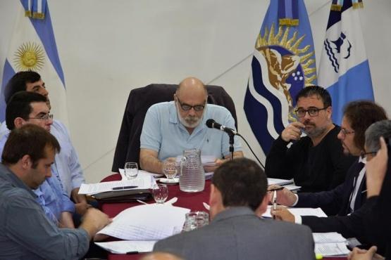 El Intendente fue acompañado por miembros de su gabinete. (C. Robledo)