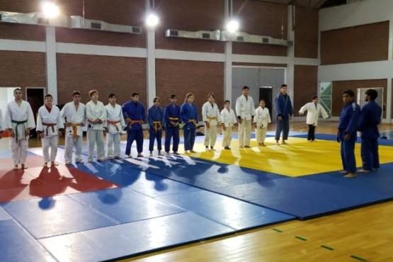 Judocas se preparan para los Juegos EPADE 2019