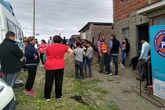 El DNI móvil estuvo en el barrio Ayres Argentinos