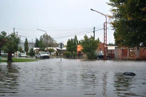 Tras la lluvia vendrán los intensos vientos indicó el Servicio Meteorológico Nacional. (J. C. Cattaneo)