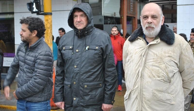 Croppi junto a Giubetich y Ramos. (J.C.C)