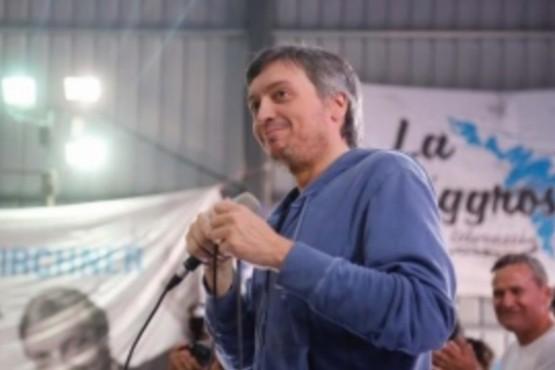Máximo Kirchner dijo que