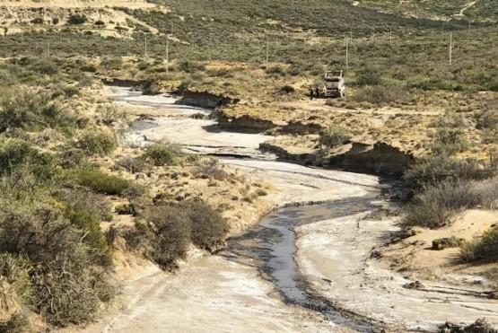 Derrame de petroleo: la mancha recorrió '7 kilómetros'