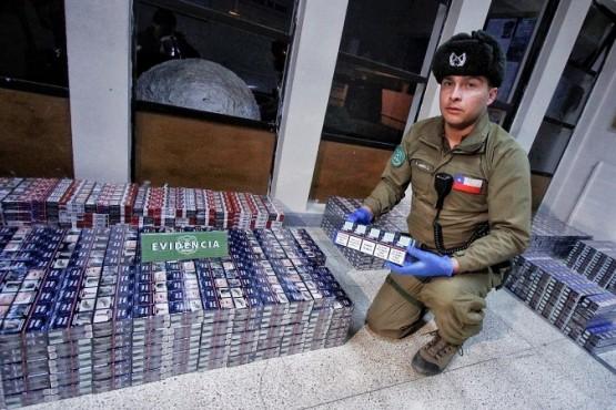 Buscan sanciones por contrabando de cigarrillos desde Argentina