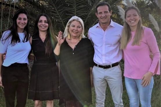 Carrió manifestó su total apoyo a la candidatura de Bertotto