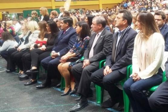 Sergio Massa en Río Gallegos para acompañar al nuevo Obispo