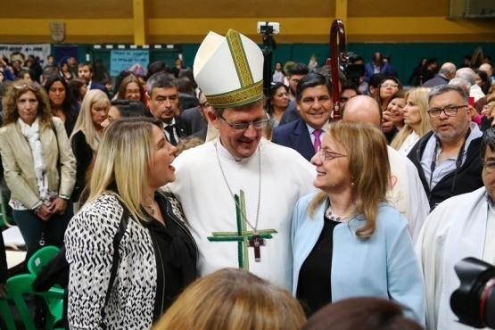 """El Obispo """"va a ayudar al trabajo en conjunto y la articulación"""" entre todos"""