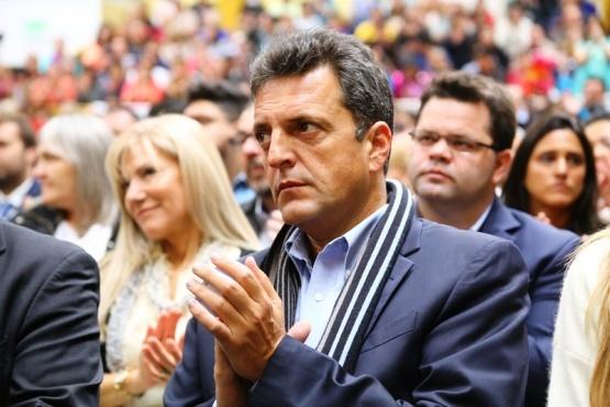 Massa pidió un gran acuerdo nacional para enfrentar a Macri