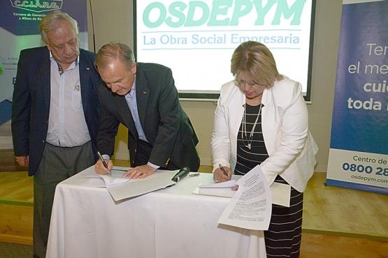 Con nuevas oficinas, se relanzó la obra social OSDEPYM en la ciudad