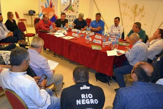 Hubo reunión por los Juegos Patagónicos.