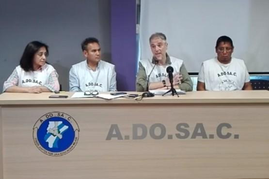ADOSAC advierte que