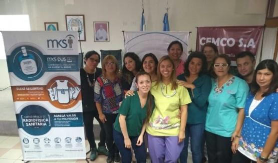 Disertación para trabajadores en el área de radiología