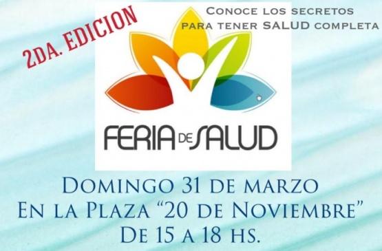 """Se realizará la segunda """"Feria de Salud"""""""