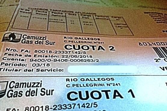 Cuánto impactará la suba del gas de forma escalonada en un usuario promedio de Río Gallegos