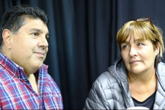 Nitcza Güemes y Andrés Fernández Cabral (C.G)