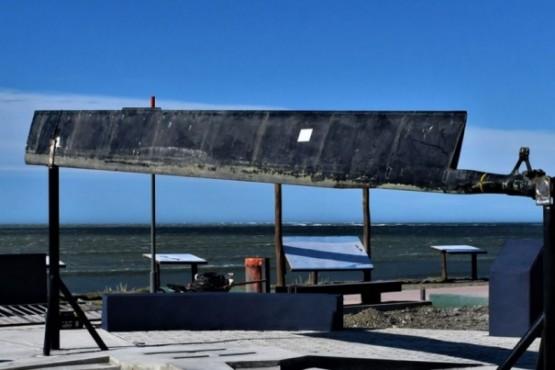 Instalaron el nuevo monumento a los Caídos en Malvinas