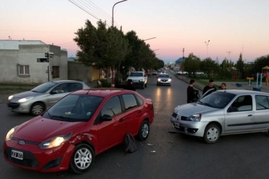 Accidente sin heridos en la ciudad