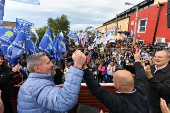 Arcioni cerró campaña en Comodoro