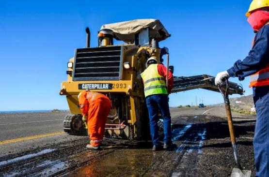 Nación realizó tareas de mantenimiento en el acceso norte