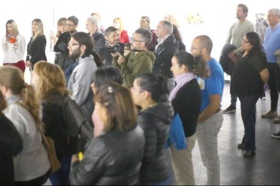 Más de un centenar de personas acompañaron la apertura de exposiciones 2019