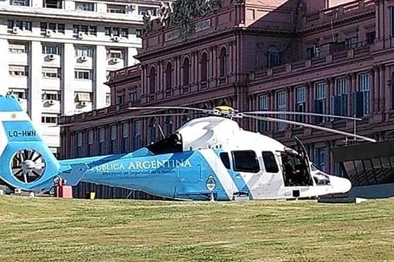 Denuncian que el presidente Macri compró dos helicópteros por 31,6 millones de dólares