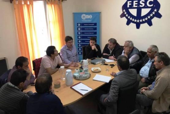 Presentación del proyecto a FESC y CAME.