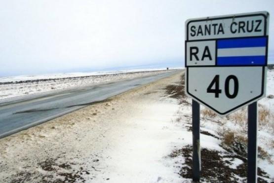 Circulación restringida en la Ruta 40 y 288