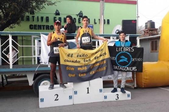 Los ganadores de la Corrida Atlética en Puerto Deseado
