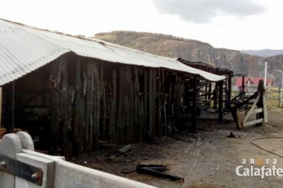 El incendio en en la agrupación gaucha tuvo un origen intencional