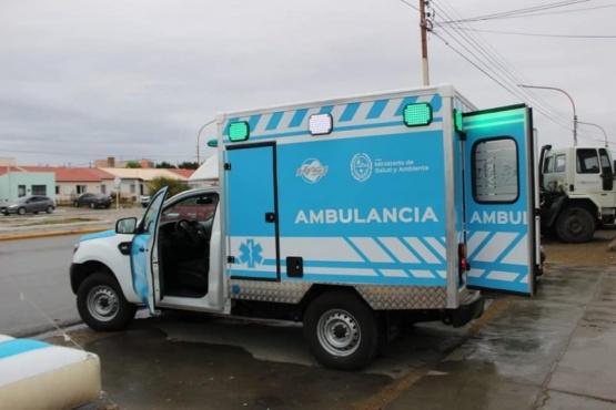 Entregaron ambulancia en Puerto San Julián