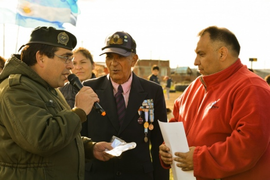 La Gesta de Malvinas también se conmemoró en el Bicentenario