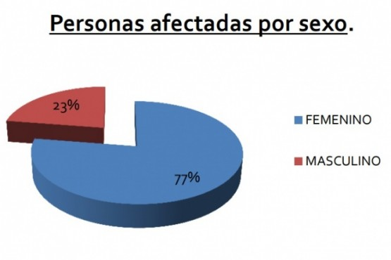 La mujer es la que más denuncia y el vínculo con la ex pareja continúa siendo el de mayor conflicto.
