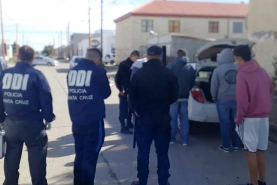 El sujeto fue detenido en cercanías al barrio Vial.