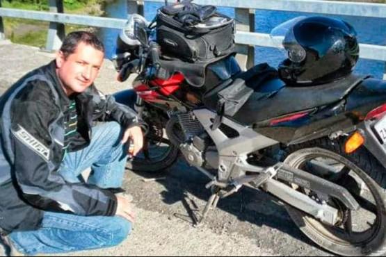 Murió motociclista chileno en la Ruta 40