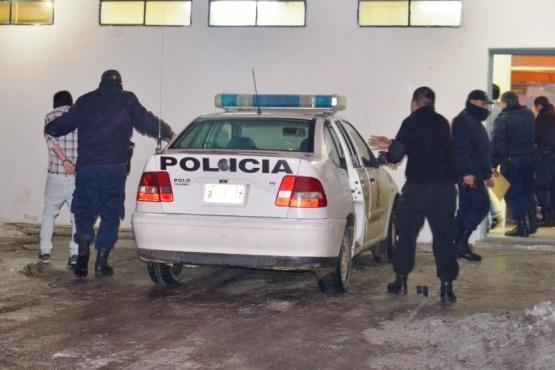 Los abusadores fueron alojados en la Comisaría Segunda.