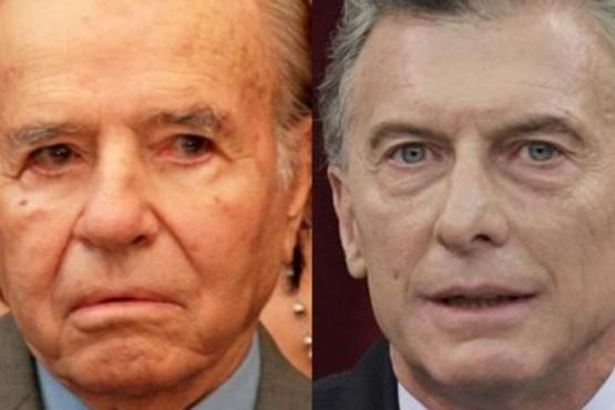 Gacetilla de Presidencia confundió a Macri con Menem