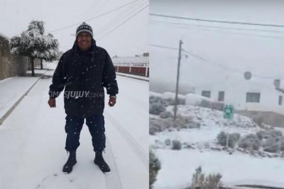 Nevó en Jujuy y la temperatura llegó a 4 grados bajo cero