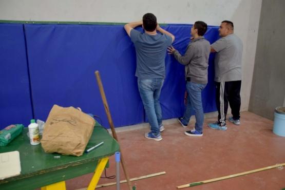 Presentan protección de las paredes del 17 de octubre