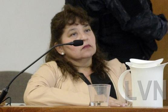 La pediatra que fue absuelta y los jueces de la Cámara en lo Criminal de la Segunda Circunscripción de Santa Cruz. (LVN)