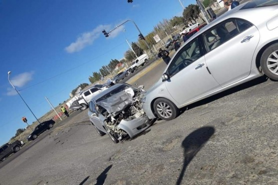 Grave accidente en Roca e Yrigoyen