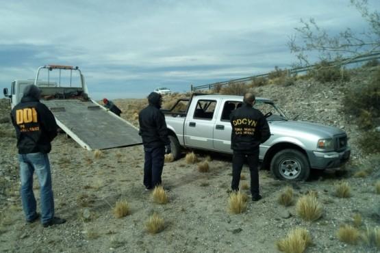 DDI de Las Heras secuestra una camioneta