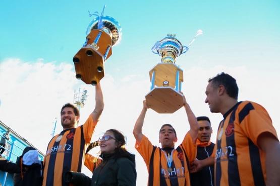 Belgrano campeón en Seniors de la Liga Independiente de fútbol de los barrios