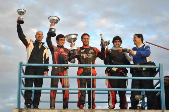 Riestra hizo podio en la segunda del campeonato