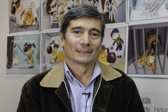 Profesional veterinario Guillermo Basualto.