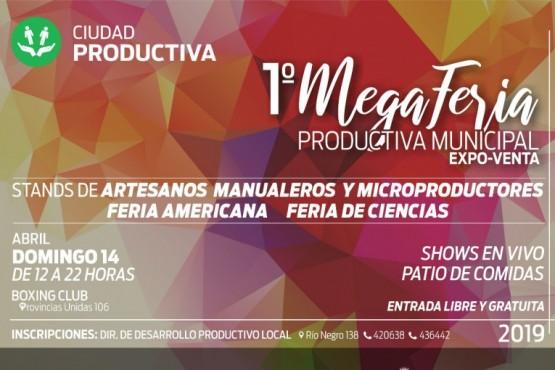 Abren inscripción para la Mega Feria Productiva