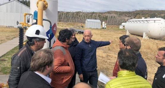 Cotillo aclaró que fue por culpa de Nación que se paralizó el tendido del gasoducto